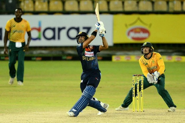 Chandimal was unbeaten on 66 in the first T20.