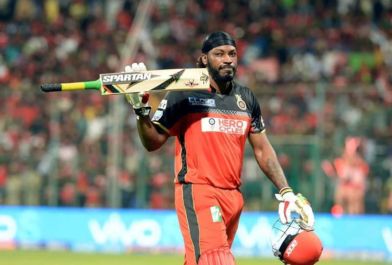 "IPL 2016: Chris Gayle finally comes into form, scores 19th IPL half  century, celebrates with ""Champion Dance"""