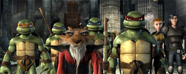 Image result for tmnt 2007