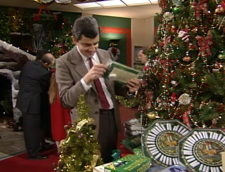 growing up in the 90s mrbean was a tv series that my family and i would watch together and enjoy laughing at rowan akisons funny performances as mr bean - Merry Christmas Mr Bean