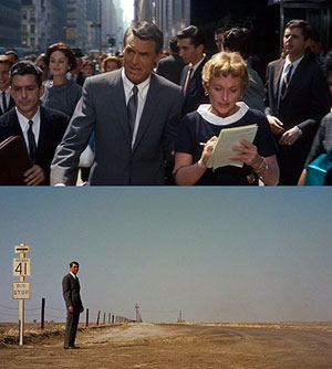 North By Northwest, 1959, dir. Alfred Hitchcock