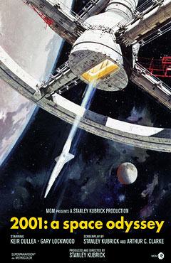 2001: A Space Odyssey (Poster)
