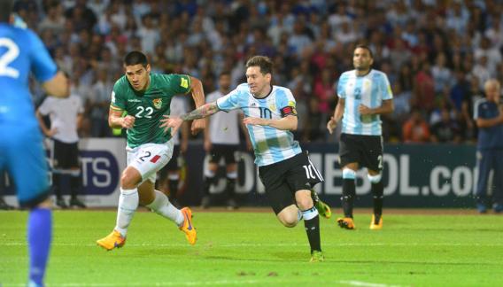 Messi hizo un buen partido y fue ovacionado. (Foto: Martín Báez)