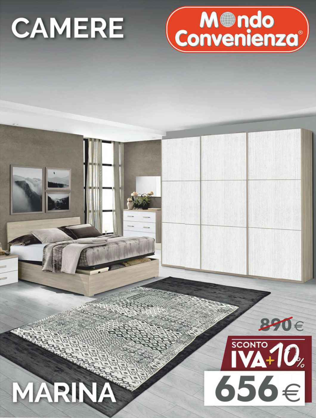 Mondo convenienza in vendita in arredamento e casalinghi: Catalogo Camere Inverno 2020