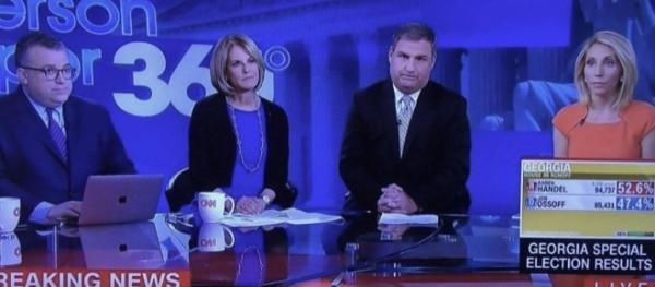 Screenshot of pouting CNN anchors goes viral after Handel ...
