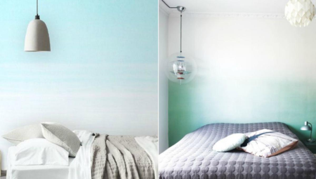 come imbiancare una parete colorata. Idee Per Tinteggiare Casa Giallo Per La Cucina Blu O Lavanda Per Le Camere Da Letto