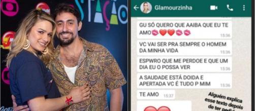 Gustavo Dagnese diz que espera uma retratação pública da ex. (Reprodução/Instagram/@glamourgarcia/@gustavo_dagnese)