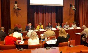 Comparecencia de la consejera Alba Verg`s en la Comisión de Salud del Parlamento Catalán