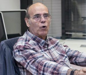 Miguel Herchiga, paciente que se encuentra en proceso de recuperación de un ictus