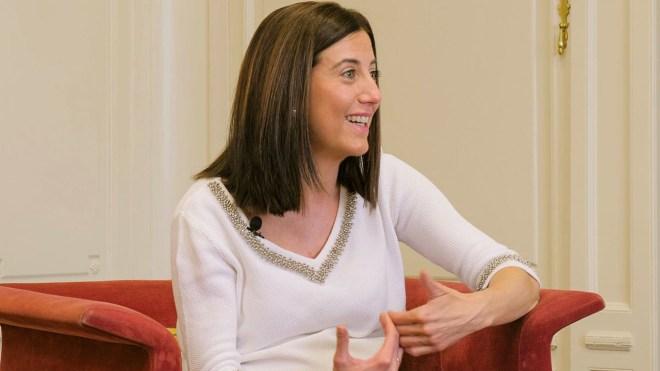 Ana Lavilla, del Servicio de Neonatología y UCI pediátrica y miembro de la Sociedad Pediátrica de Especialistas Quirúrgicos e Intensivos, SOPEQUIN-Navarra