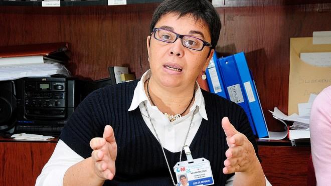Camen Pallás, jefe del Servicio de Neonatología del Hospital 12 de Octubre, de Madrid.