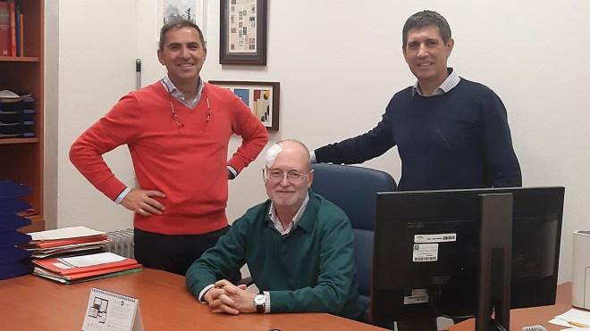 José María Castellano, José Lapetra y José Manuel Santos, autores principales del estudio Prediabole.