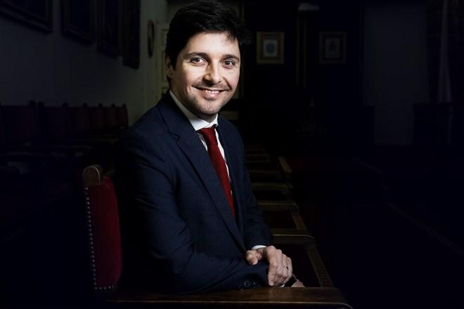 Duarte Santos, presidente de la Agrupación Farmacéutica Europea (PGEU). / J.L. Pindado.