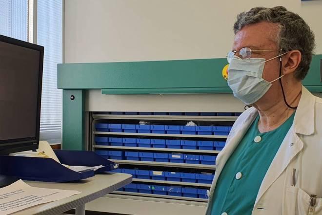 José Miguel Ferrari, jefe del Servicio de Farmacia del Hospital 12 de Octubre.