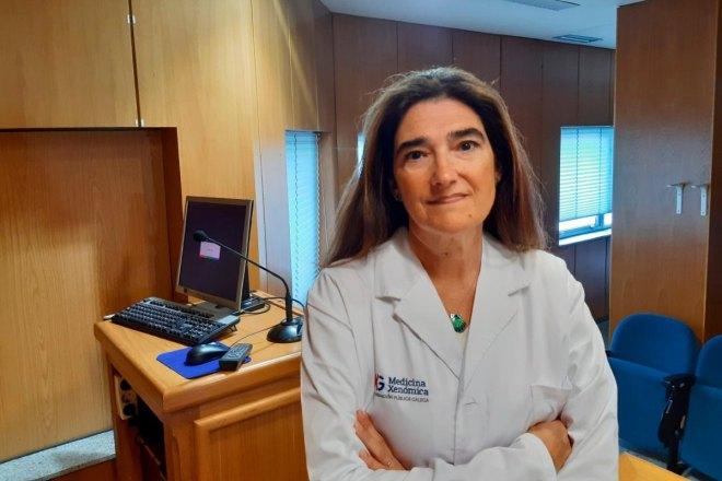 Manuela Gago, especialista en Genética en la Fundación Pública Gallega de Medicina Genómica e Instituto de Investigación Sanitaria de Santiago de Compostela (IDIS)