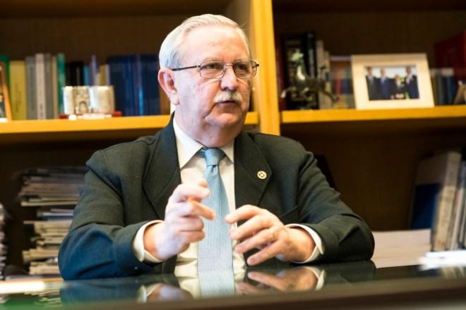 Serafín Romero, presidente de la Organización Médica Colegial (OMC) (Mauricio Skrycky)