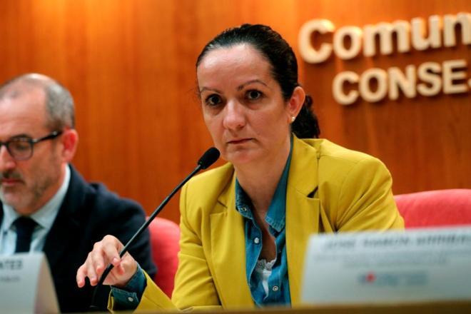 Yolada Fuentes, ex directora de Salud Pública de la Consejería de Sanidad de Madrid (EFE/Rodrigo Jiménez)
