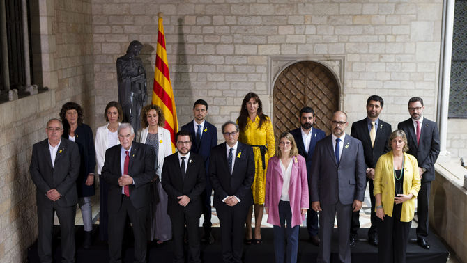 Resultat d'imatges de Nou govern de la Generalitat