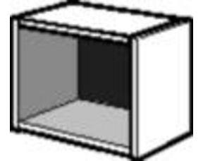 caisson droit h36 3 x p50 cm pour dressing espace