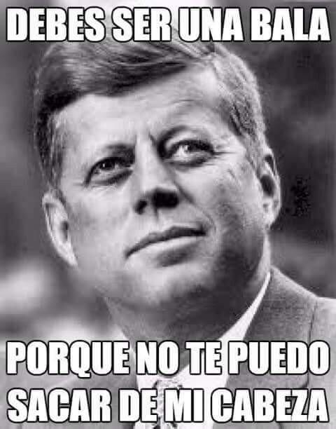Este Kennedy, que cosas tiene...