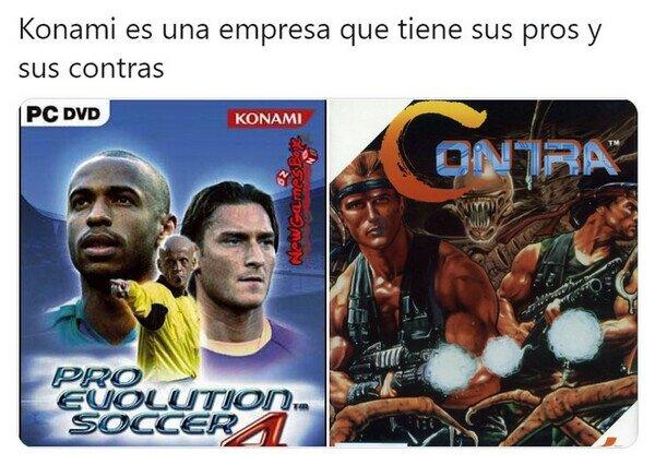 Konami tiene de todo