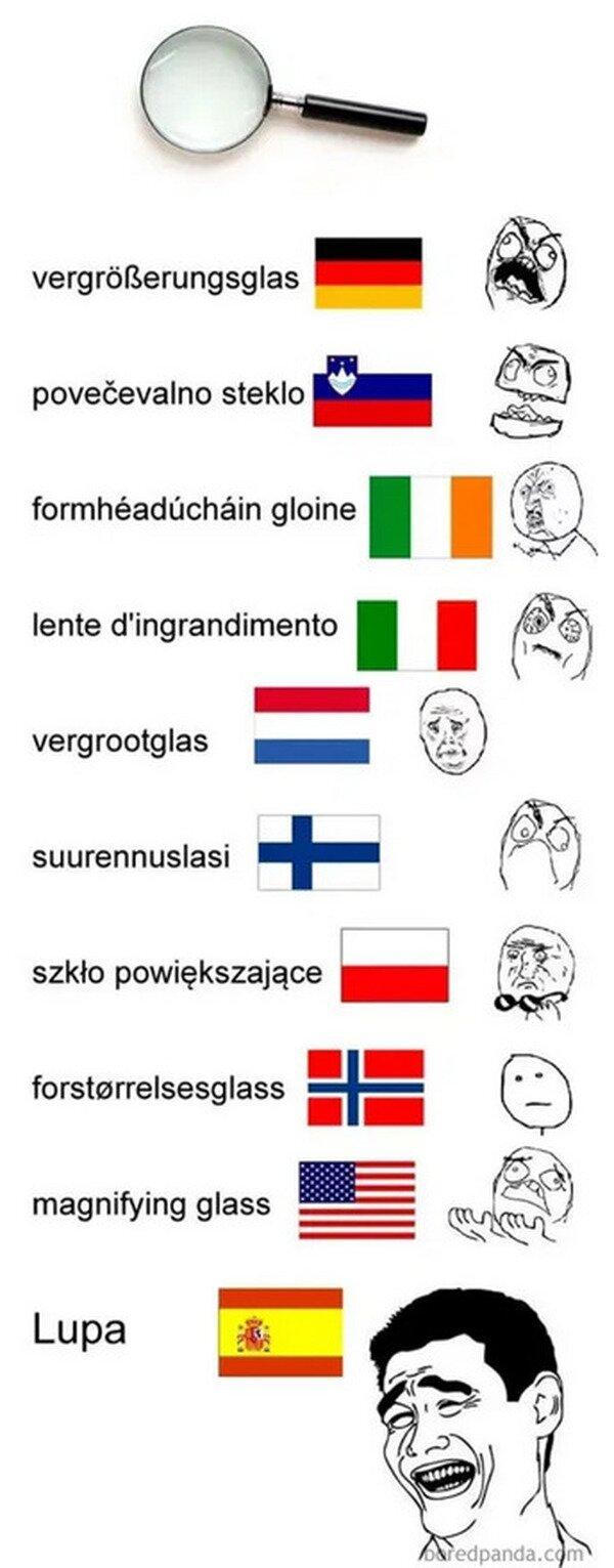 Con el español no nos complicamos