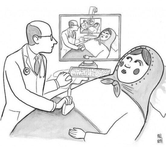 El embarazo de una Matrioshka