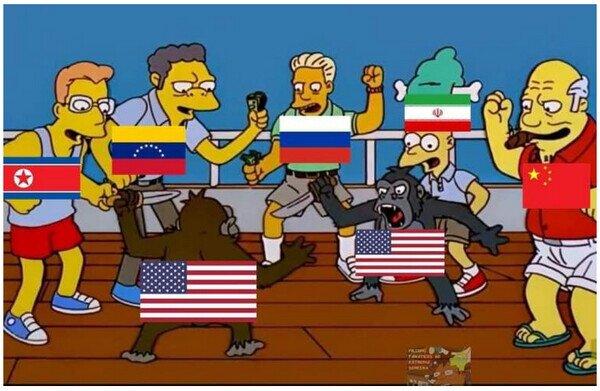 Así está el resto del mundo respecto a la situación de EEUU