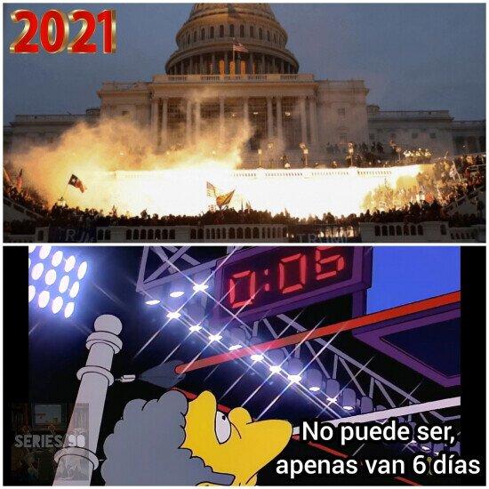 2021 empieza igual de loco de lo que acabó 2020