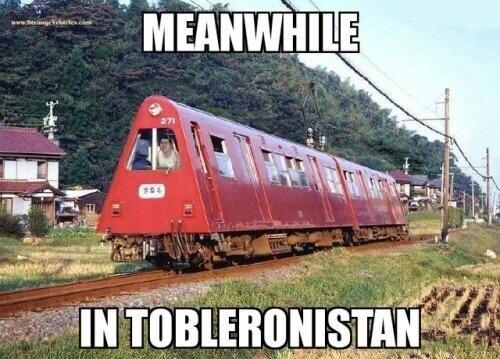 En el mundo de los Toblerone...