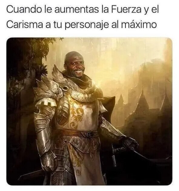 Te queda Terry Crews