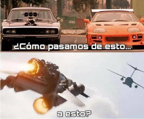 Fast & Furious, ¿qué te han hecho?