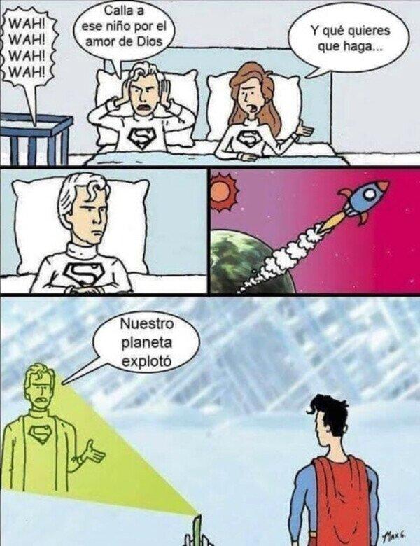 La verdadera precuela de SuperMan