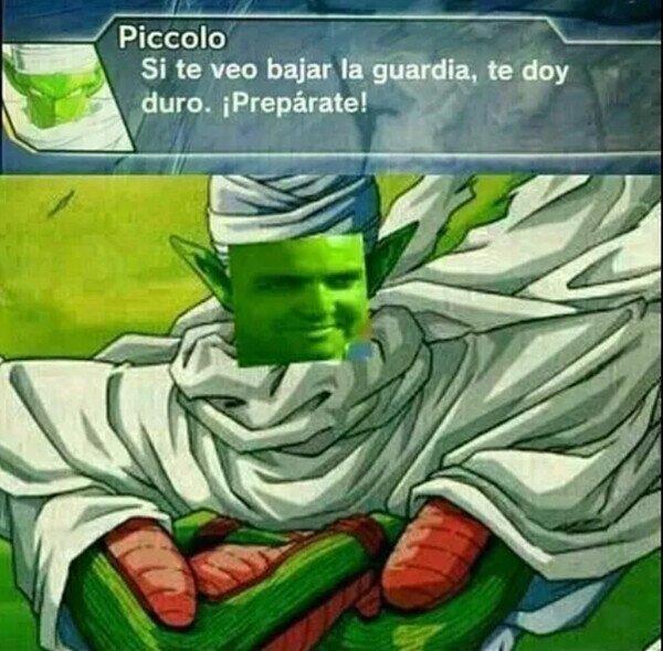 Este Piccolo es todo un pillín