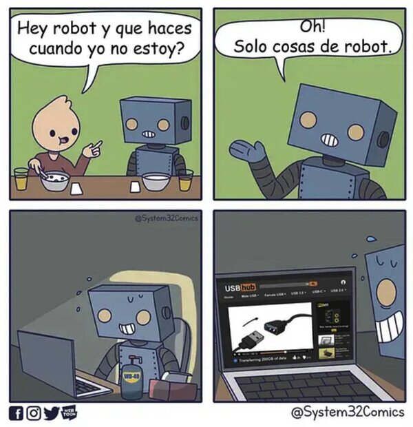 Cosas de robot