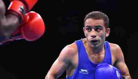 Asian Games 2018  Boxing  Men s Light Fly 49kg Semifinal  Amit     Asian Games 2018  Boxing  Men s Light Fly 49kg Semifinal  Amit Panghal vs  Carlo Paalam Live Score