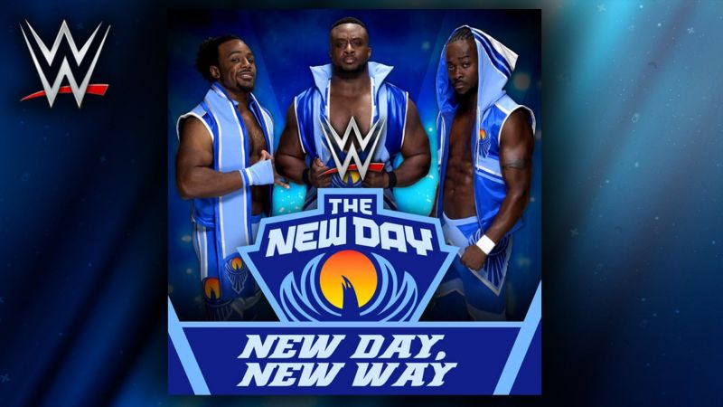 The New Day's energetic theme song is just right for the trio.