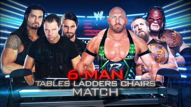 A TLC match was a hell of a way to debut for The Shield