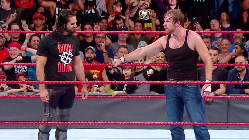 Dean Ambrose and Seth Rollins reunite