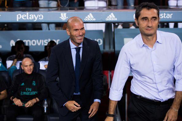 FC Barcelona v Real Madrid - Supercopa de Espana: 1st Leg