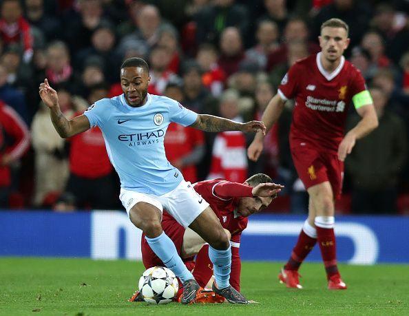 2018 UEFA Champions League Football Liverpool v Man City Apr 4th