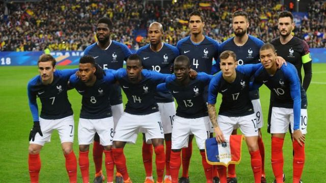 Image result for france squad 2018 world cup