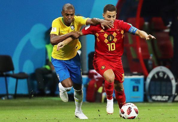 2018 FIFA World Cup quarterfinals: Brazil 1 - 2 Belgium