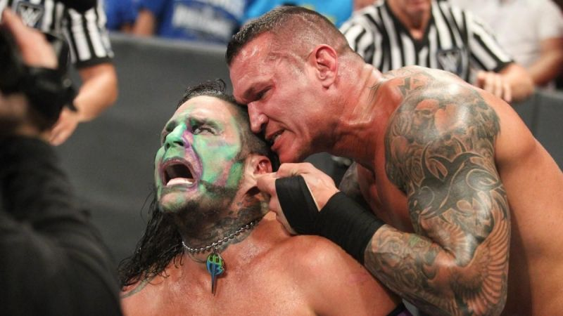 Image result for randy orton and jeff hardy