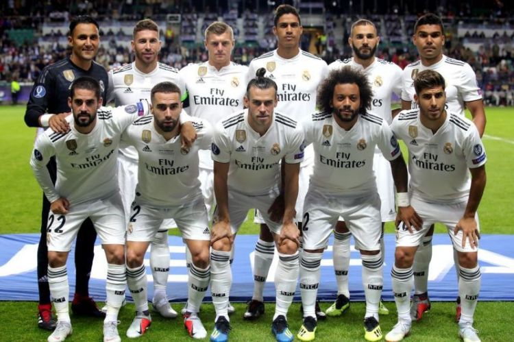 Real Madrid: Weekly wages and salaries of first-team stars ...