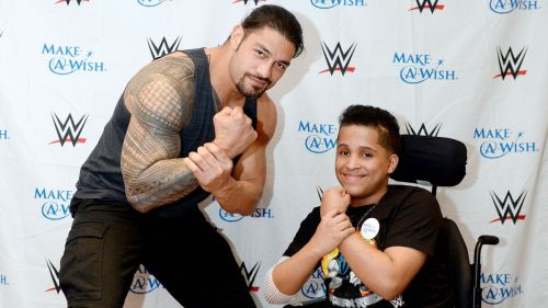 Reigns is a real-life hero