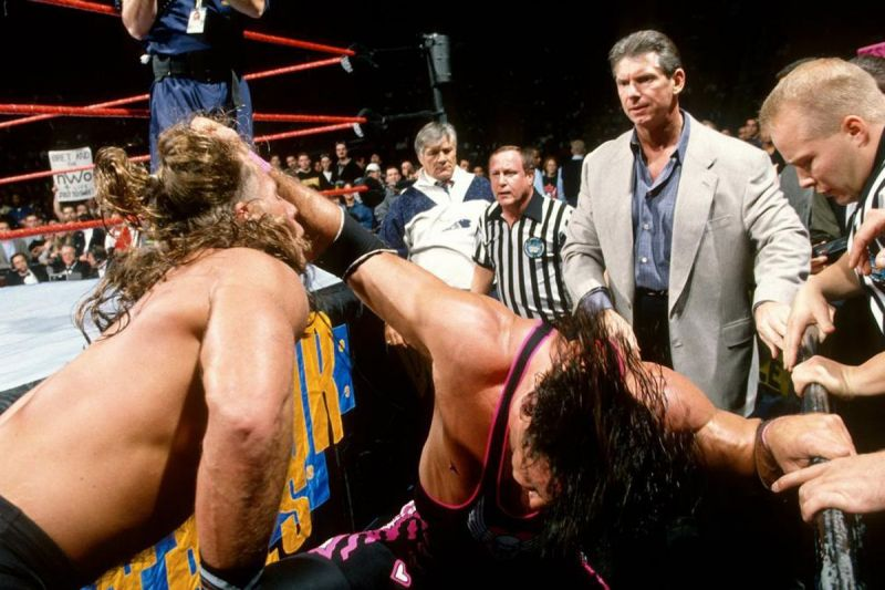 A night Bret Hart will never forget