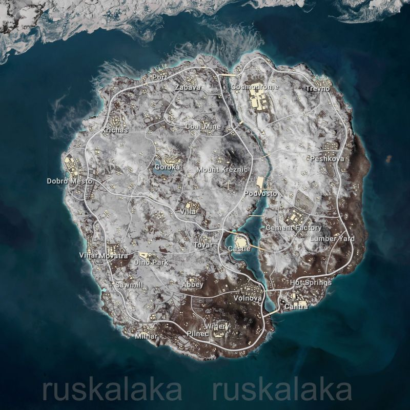 PUBG News Snow Map Vikendi Coming To PUBG Mobile