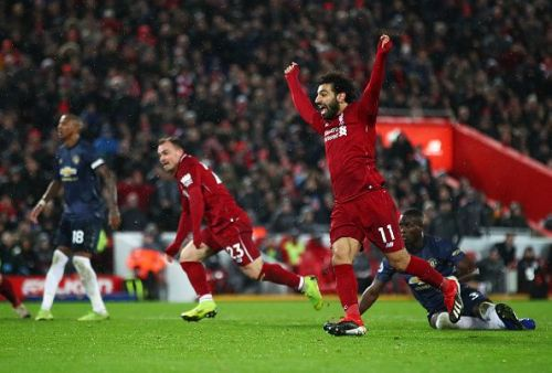 Liverpool beat Manchester United thanks to two goals by Shaqiri