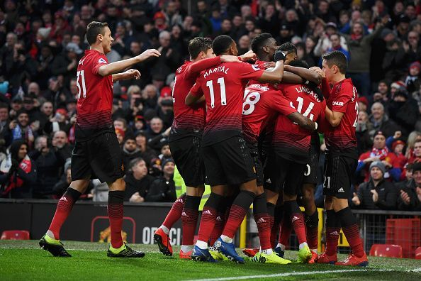 United raced into a two-goal lead before the break and despite a late scare, earned an important three points